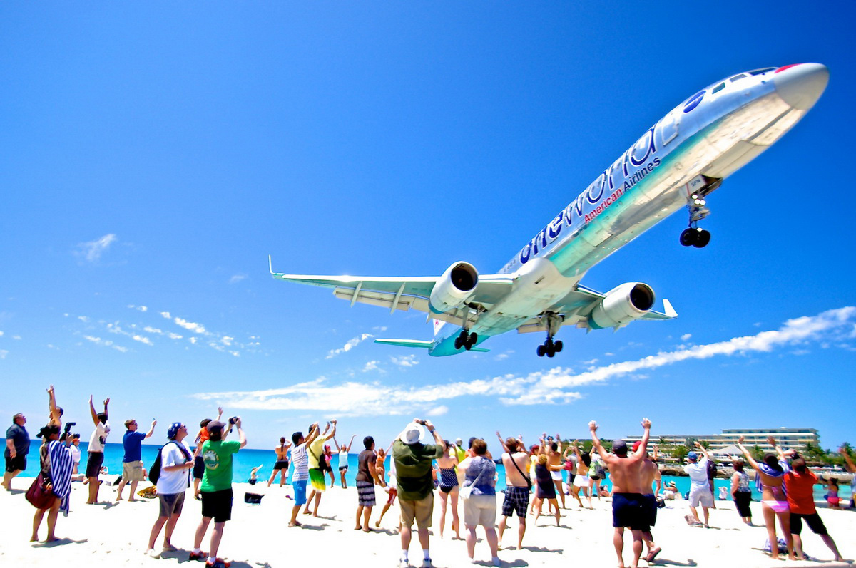 St Maarten Airport Sint Maarten Aviation Photography